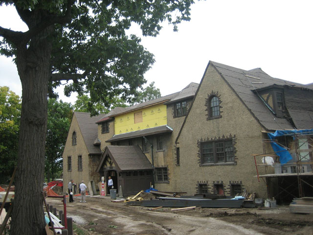 Chapter House renovation 2006