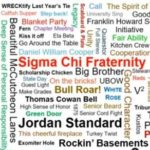 Class of '63 Sigma Chi montage