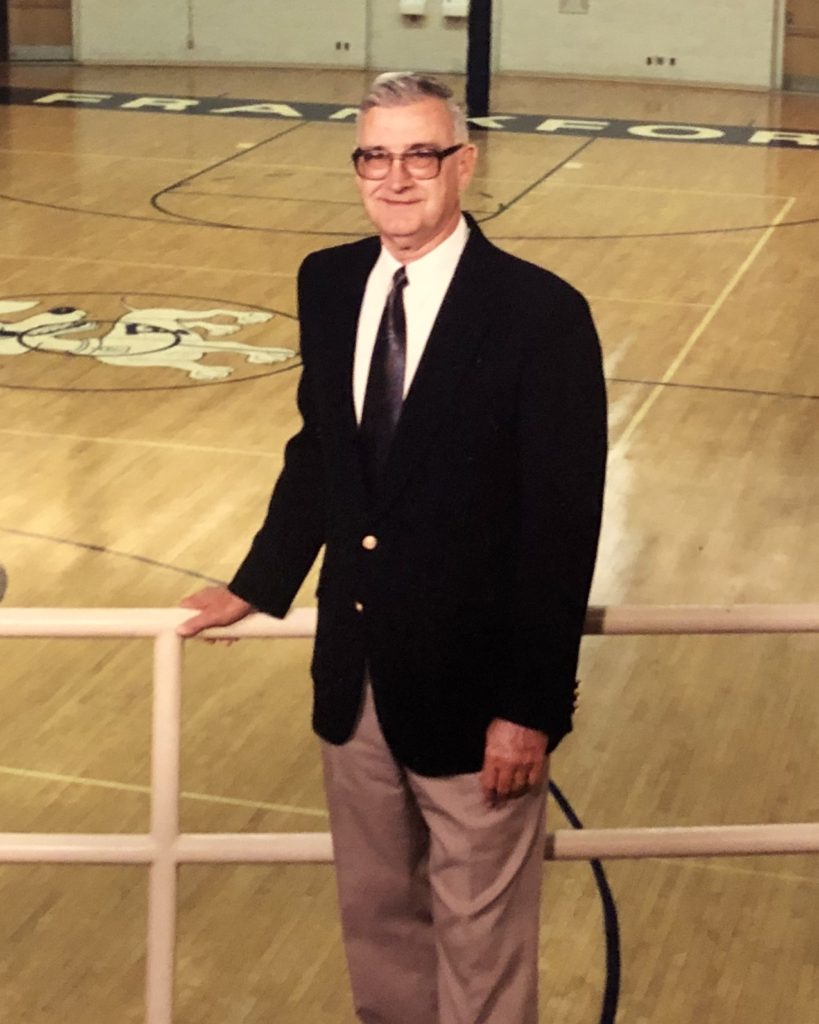 Richard Ricker Frankfort Hall of Fame