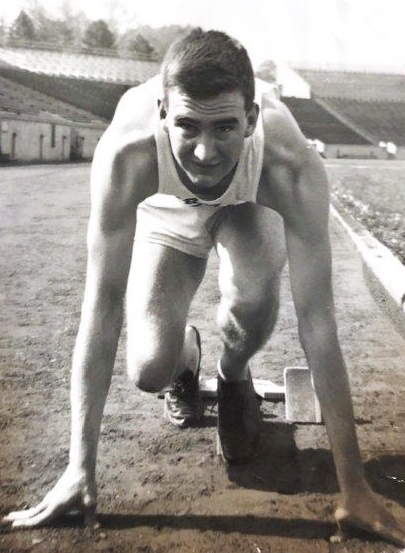 Richard Ricker Class of 1954 Purdue track