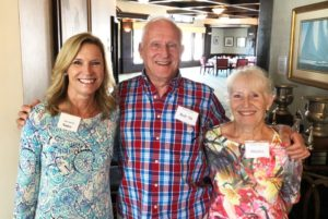 Nancy Burrell, Bob and Shirley Puzey