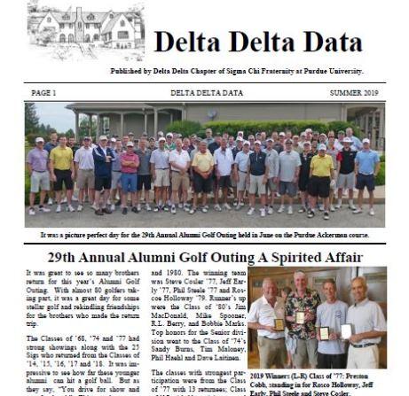 Summer 2019 Delta Delta Data