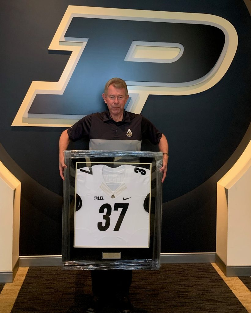 Jim Vruggink 37 years at Purdue