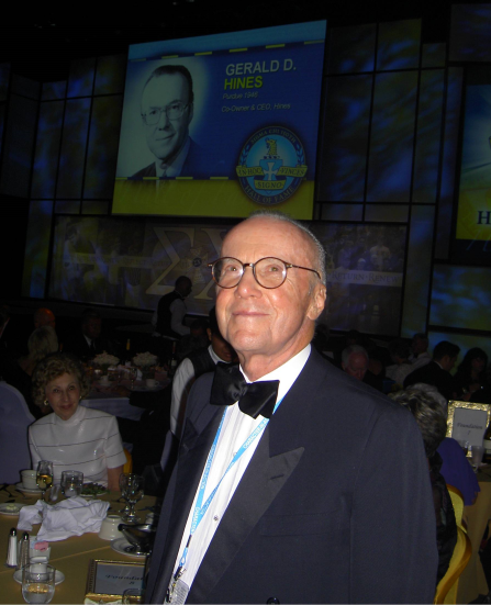 Gerald Hines Sigma Chi Hall of Fame