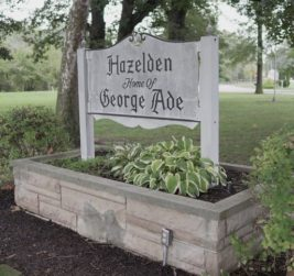 Hazelden sign