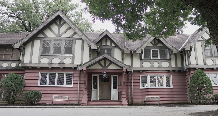 Goorge Ade's home, Hazelden