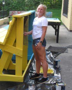 Kelsey Miller at Delta Delta