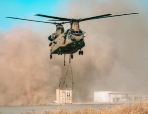 CH-47F Sling Load