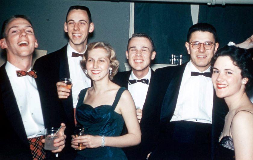 1957 Purdue Sigma Chi Blue Formal
