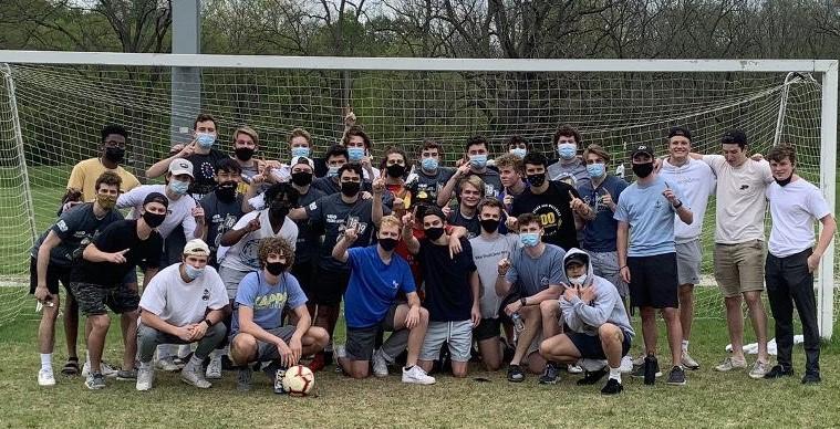 Sigma Chi Purdue intramural soccer team