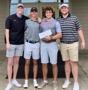 Sigma Chi undergrad golf team